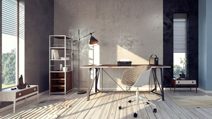 Learning How To Declutter Your Home Office Is One Of Those Skills That Can Be A True Career Saver Particularly In This Day And Age When 43 Employed